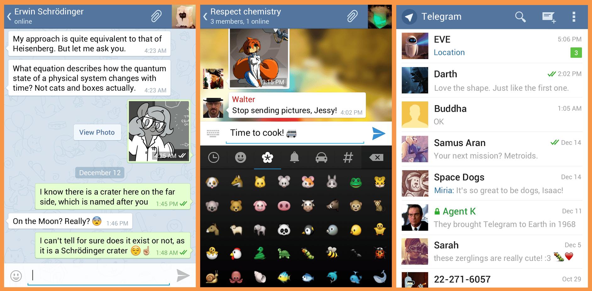 تطبيق-تلغرام