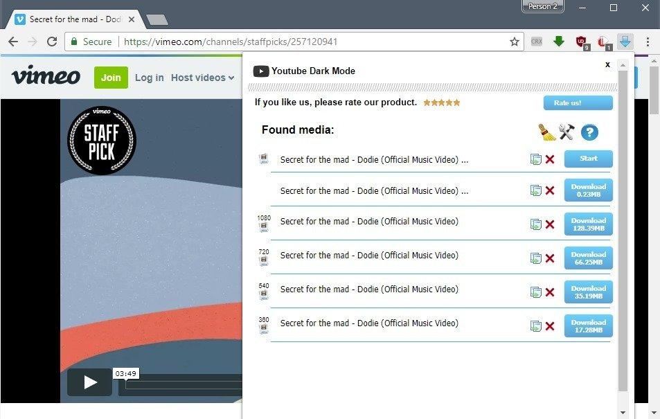 اضافه زر Download اسفل فيديوهات اليوتيوب وتحميل أي فيديو على النت بدون برامج