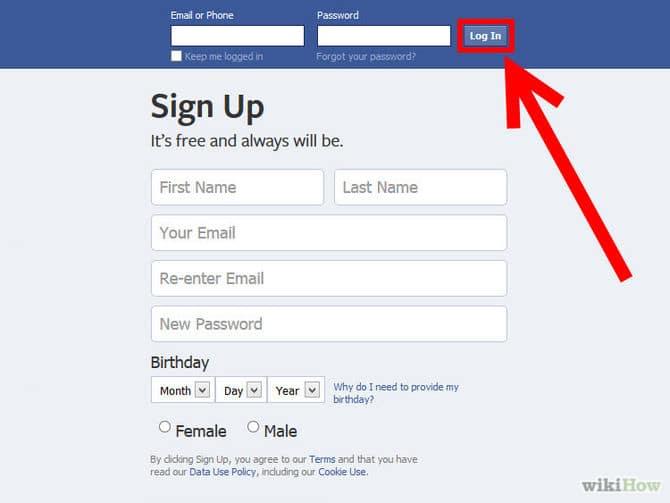 حذف حساب الفيس بوك خاصتي