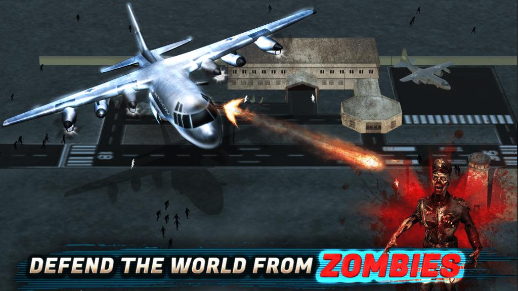 لعبة Zombie Aircraft احد افضل العاب اندرويد المجانية