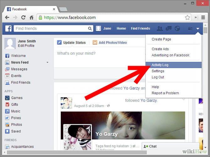 حذف صفحتي على الفيس بوك نهائيا