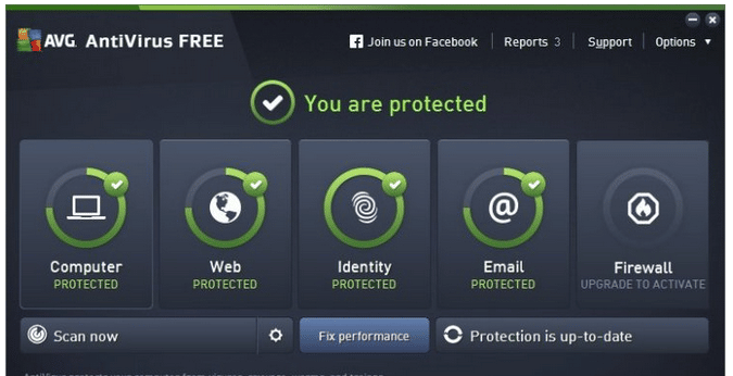 AVG Anti-Virus Free 2016