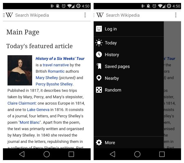 ويكيبيديا للاندرويد