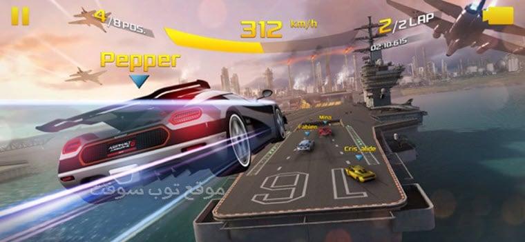 لعبة السباق سيارات
