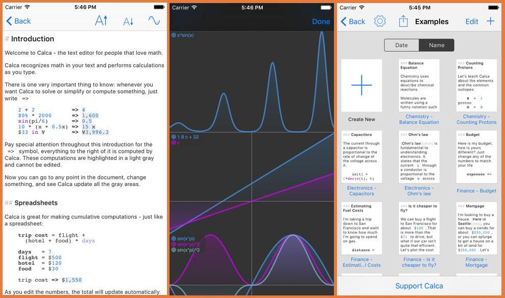 Calca ( iPhone + iPad )