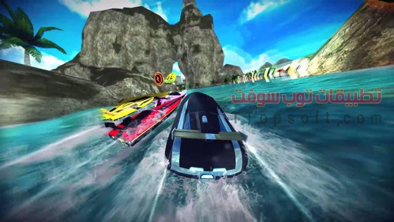 أفضل 3 ألعاب سباقات سيارات ودراجات و زوارق بحرية للأندرويد 2016