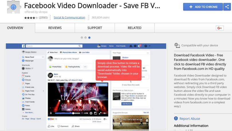 Facebook-Video-Downloader