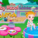 لعبة بيبى هازل والسمكة الذهبية