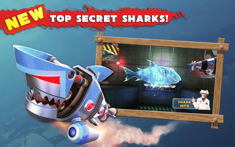 Hungry shark evolution скачать на андроид взлом