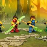 بطولة النينجا للمحترفين حيث اساليب القتال الخاصة والقدرات الخارقة والحركات الخطيرة فى اللعبة الممتعة والرائعة LEGO Ninjago Tournament