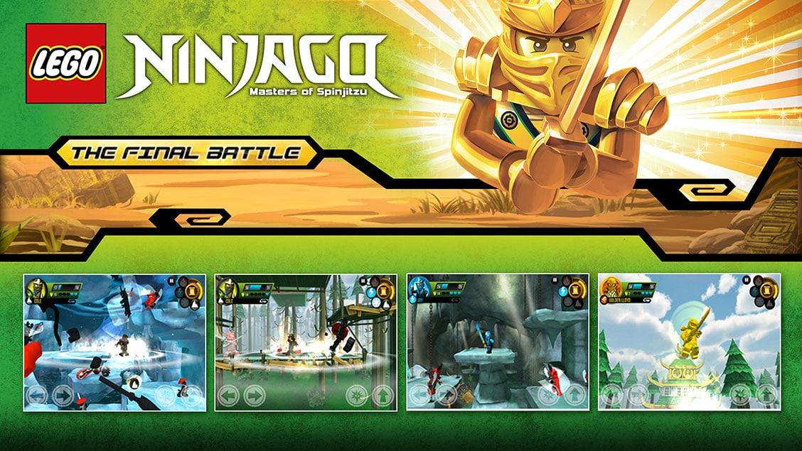 تحميل لعبة lego ninjago tournament للايفون
