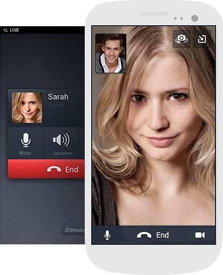 تطبيق لاين ويندوز فون اجراء مكالمات فيديو وصوت في اي وقت تريدة مع الحفاظ على الجودة عالية جداً