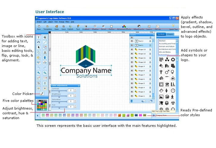 LogoSmartz Logo Maker for Mac