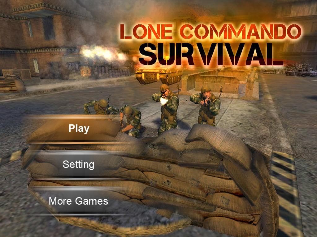 Lone Commando Survivor Shooter