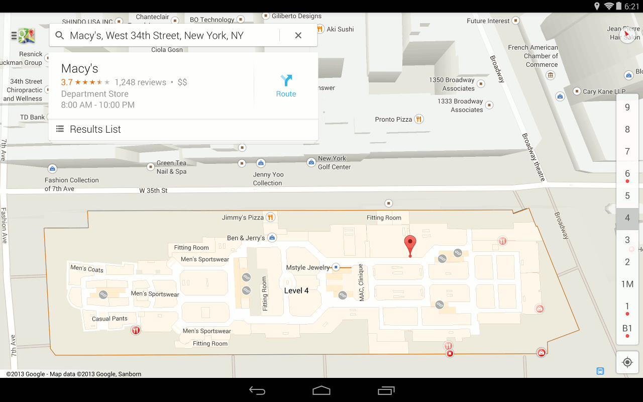 Maps جو جل