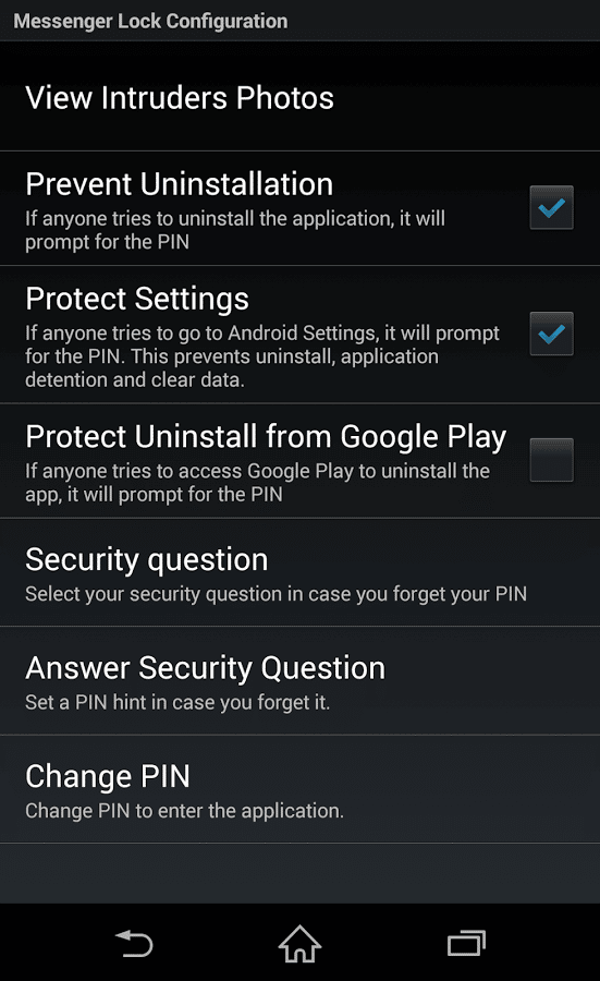Messenger and Chat Lock 3