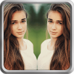 Mirror Image - Photo Editor تطبيق تاثير المرآة على الصور 2020