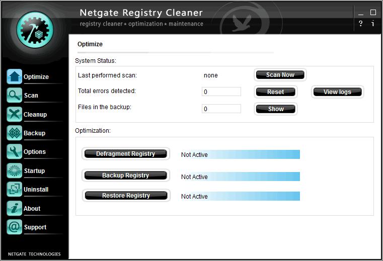 NETGATE Registry Cleaner 1