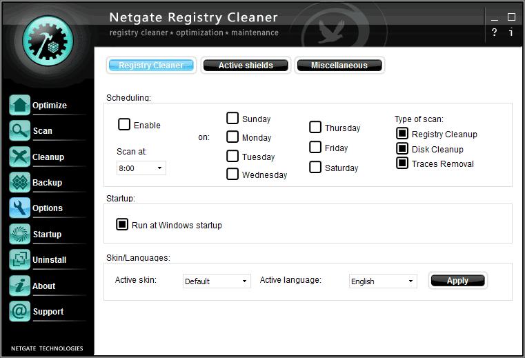 NETGATE Registry Cleaner 3