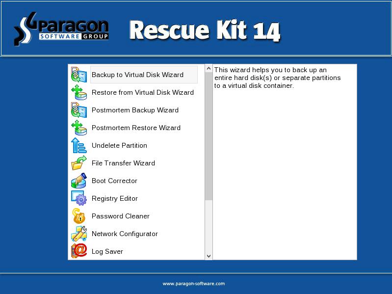 Paragon Rescue Kit Free Edition