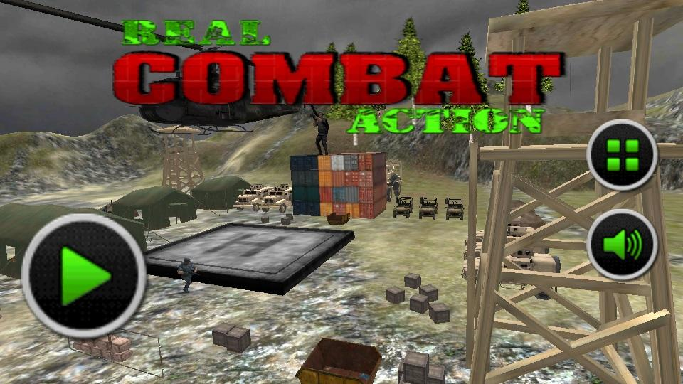 Real Combat Action