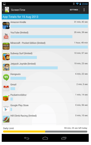 Screen-Time-App-for-Android