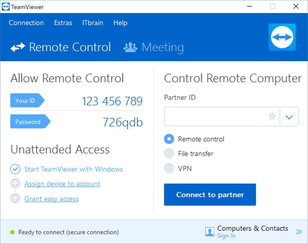 TeamViewer تنزيل برنامج التحكم في الاجهزة الكمبيوتر عن بعد جديد