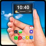 تطبيق جعل هاتف الأندرويد شفاف مثل الزجاج Transparent Screen