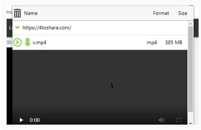 إضافة جوجل كروم 4TS Downloader