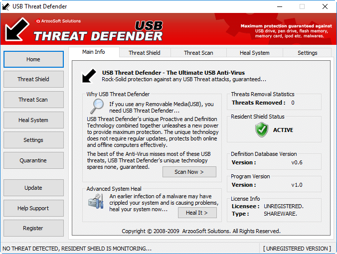 USB Threat Defender