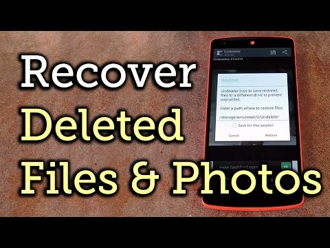 Undeleter Restore Files & Data