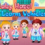 لعبة بيبى هازل وتعلم قيادة المركبات Baby Hazel Learns Vehicles
