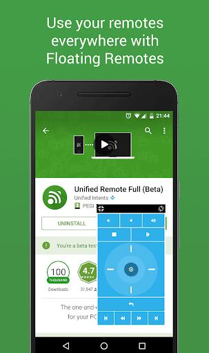 تطبيق Unified Remote للتحكم بجهاز Vkj2Bbg8PzLWzviC2Svr