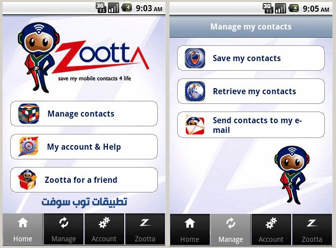 Zootta contacts