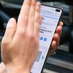 كيف تأخذ لقطات سكرين شوت لشاشة هاتف Galaxy S10 جالاكسي إس 10 الجديد
