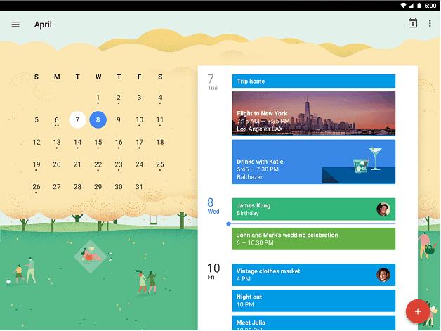 androidpit-google-calendar