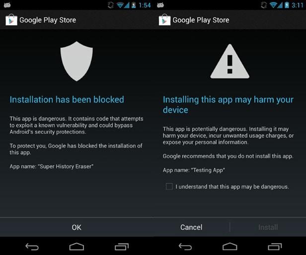 app-peligrosa-google-service
