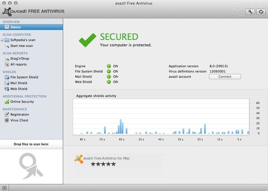 avast! Free Antivirus for Mac 2014