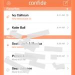 برنامج شات ودردشة Confide