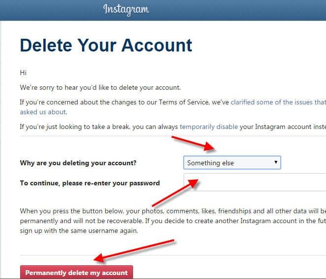delete-instagram- نهائيaccount