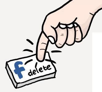 حذف صفحة الفيس بوك بشكل نهائي