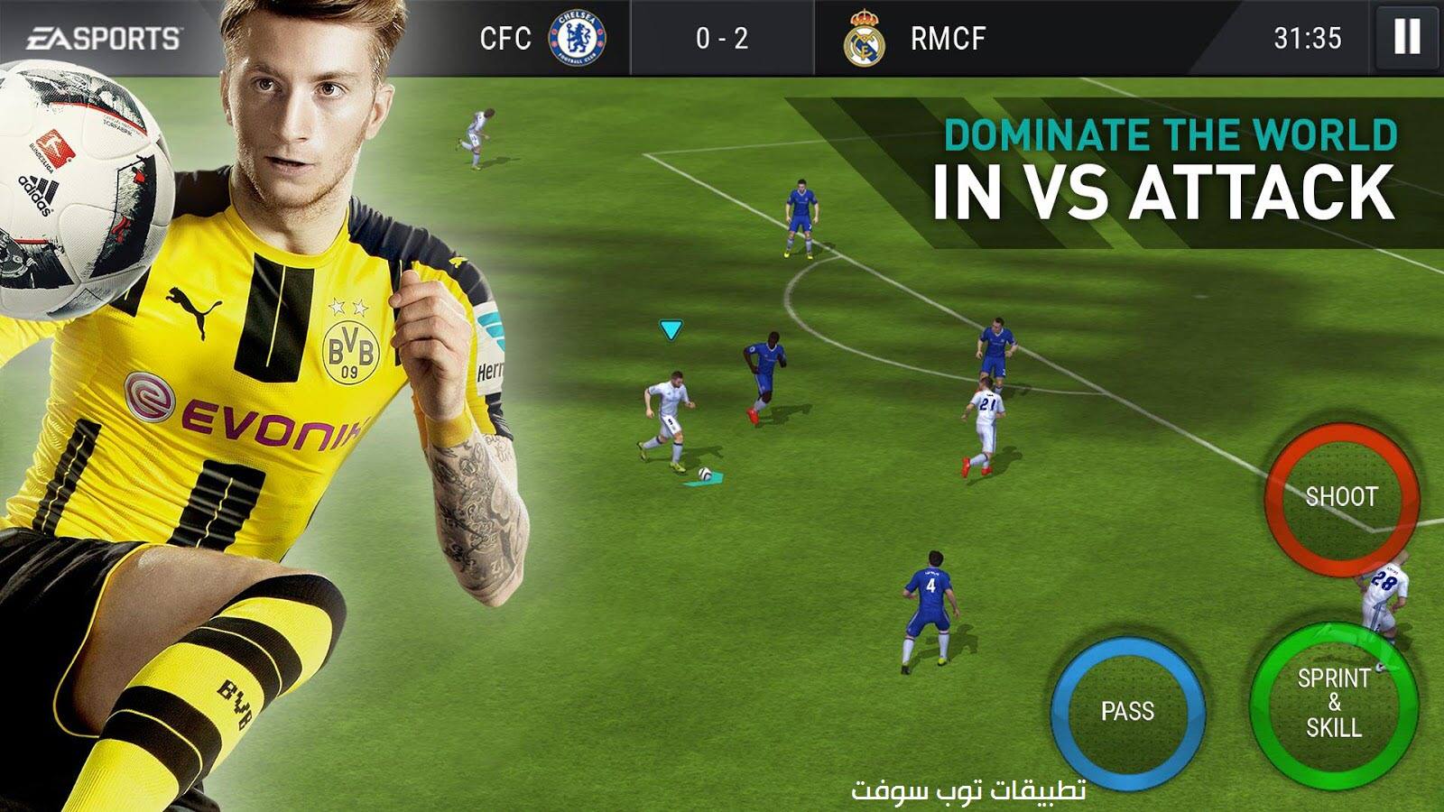 FIFA Mobile Football APK صور لعبة كرة قدم FIFA Mobile Football APK