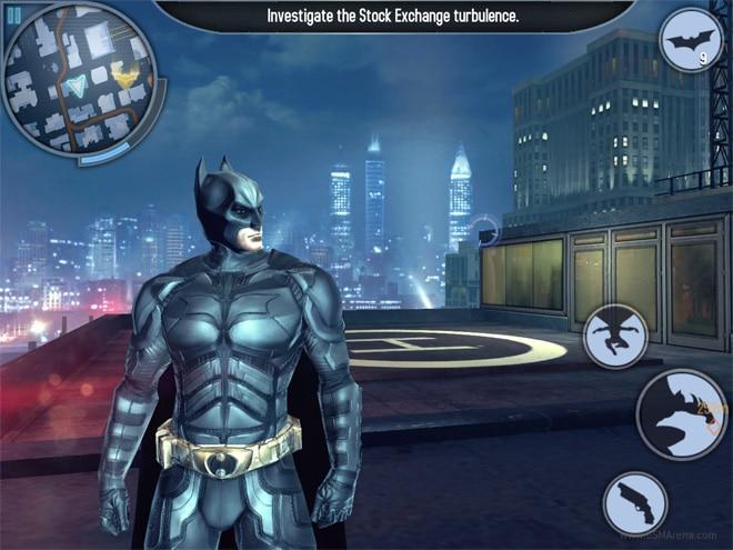 تحميل لعبة batman the dark knight rises للاندرويد