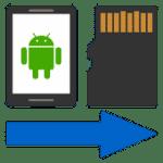 تحميل تطبيق Files To SD Card لنقل الملفات من الهاتف لذاكرة خارجية مجانا