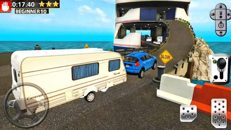 Ferry Port Trucker Parking Simulator