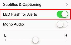 كيف تجعل فلاش كاميرا الأيفون يضيء عند وجود إشعارات وإخطارات جديدة ؟
