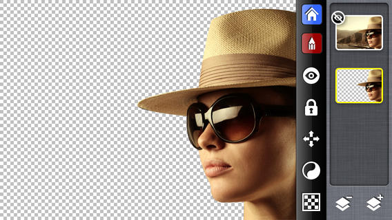 Photofusion تطبيق تغير خلفية الصور للايفون ودمج الصور