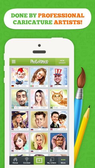تطبيق تحويل صورك إلى صور مرسومة باليد او كاريكاتورية او كرتونية