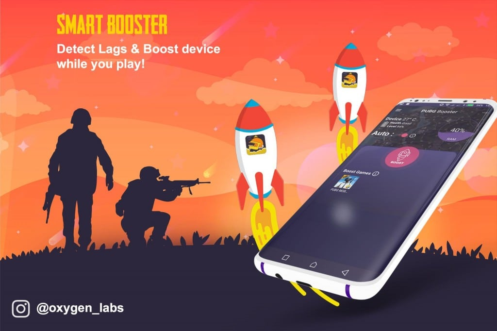 Booster for PUBG