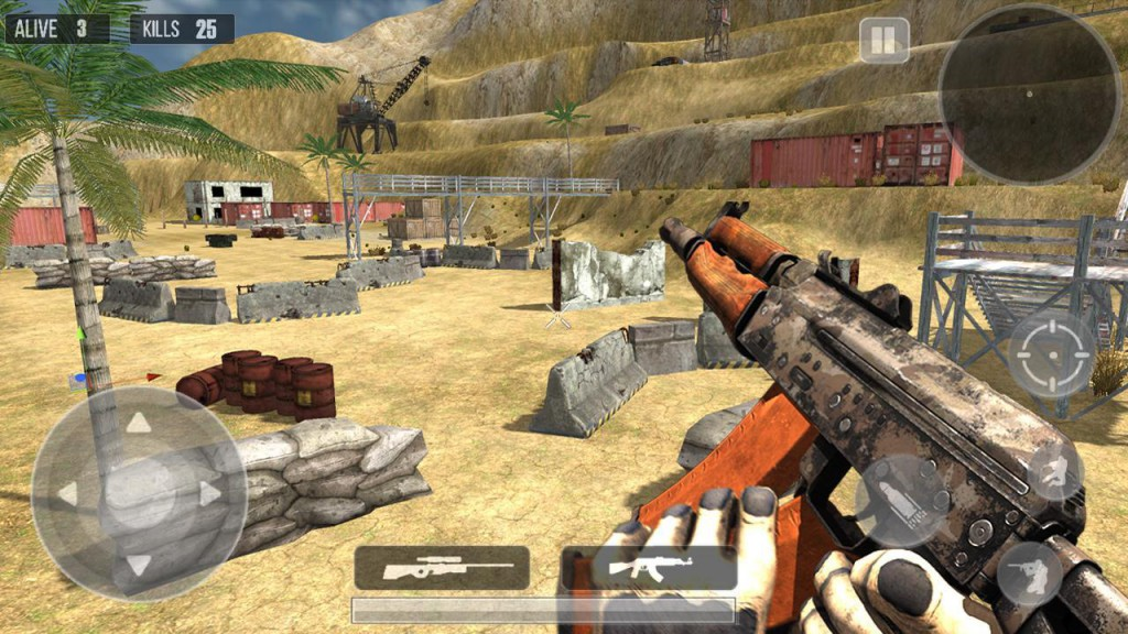 Mountain Sniper 3D Shooter